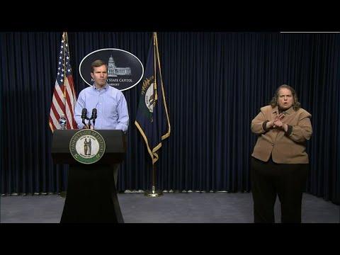 Gov. Andy Beshear March 14 4:00 p.m. Update | Coronavirus | KET