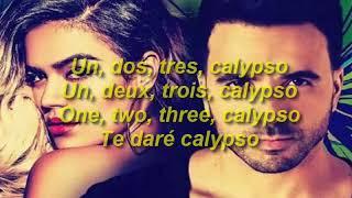 🎧 Letra de Calypso (Remix) 2018  - Luis Fonsi ft Karol G