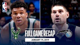 Full Game Recap: Bucks vs Magic | Bledsoe Scores Season-High 30