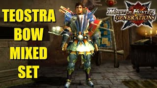 Monster Hunter Generations: The Teostra Bow Mixed Armor Set
