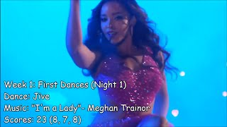 Tinashe - All Dancing With The Stars Performances