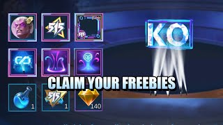 CLAIM YOUR 515 FREEBIES TODAY - FREE RECALL, HERO AND ELIMINATION EFFECTS IN MOBILE LEGENDS