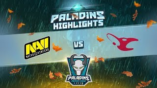 Paladins Highlights: NAVI vs Mousesports @ Premiere League Fall Split 2018