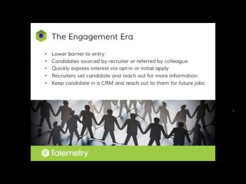 Job Applications in the Engagement Era