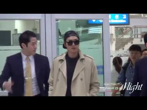 Lee Min Ho 20141014 Gimpo Airport 입국