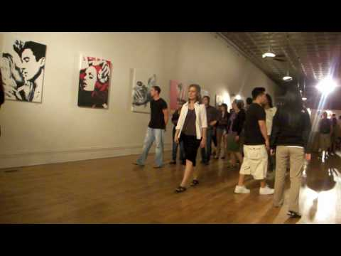 Pop Art Paintings Art Exhibition by artist ALSu