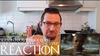 Game of Thrones 4x8 'The Mountain and the Viper' REACTION CATCHING UP part 1
