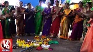 Actress Gautami Participates In Bathukamma Festival Celebr..