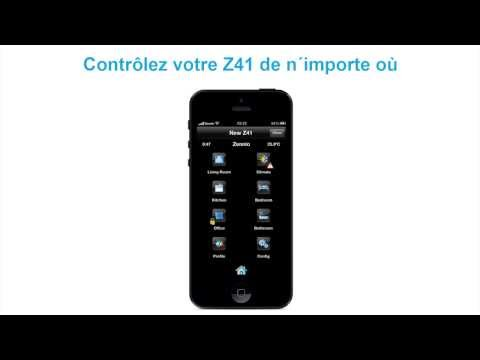 Z41 REMOTE - Zennio APP pour contrôle KNX à distance