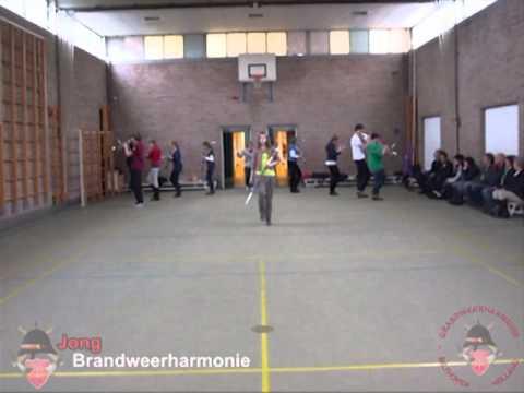 Eerste jeugdshowdag voor Jong Brandweerharmonie