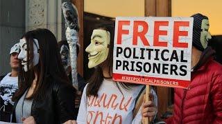 Ереван: Anonymous за освобождение политзаключенных