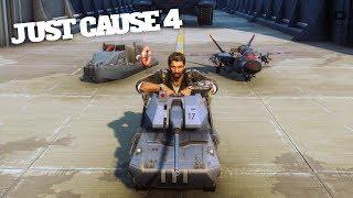 Just Cause 4 #49 - Chạy Thử Những Phương Tiện Đồ Chơi