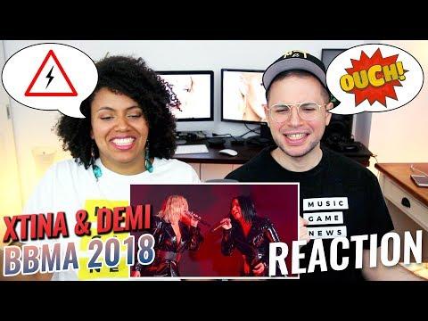 Christina Aguilera & Demi Lovato – Fall In Line | BBMA 2018 | REACTION