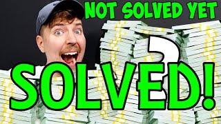 Mr Beast $100,000 Riddle SOLVED!! Steps 1 - 27 (OLD VERSION)