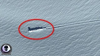 WHAT Crash Landed Over The Antarctic?