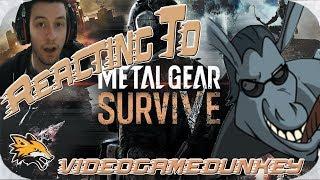 Reacting to videogamedunkey Metal Gear Dies