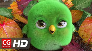"CGI Animated Short Film: ""Thatching Eggs"" by Max Marlow 