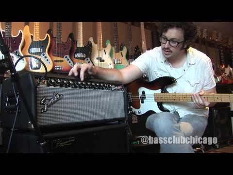 Fender Super Bassman Head Demo from Bass Club Chicago