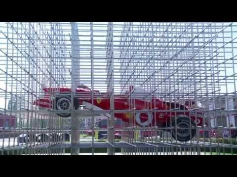 Inaugurazione delle nuove strutture del piazzale del Museo Ferrari