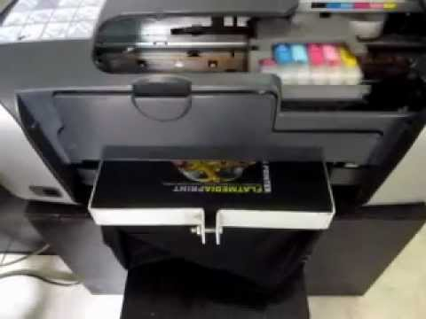 Mesin Sablon Kaos Digital - Printer DTG Epson R230 CMYKWW (light/dark T-shirt) - Smashpipe Tech