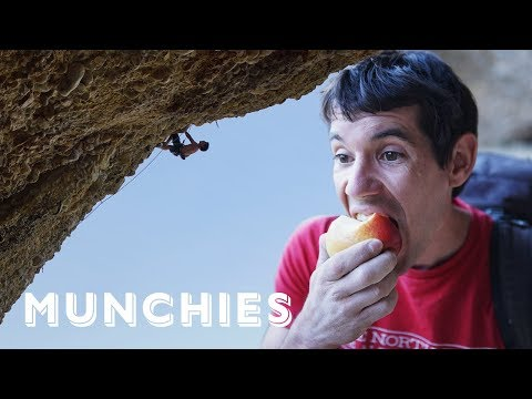Professional Rock Climber Alex Honnold's Vegetarian Diet