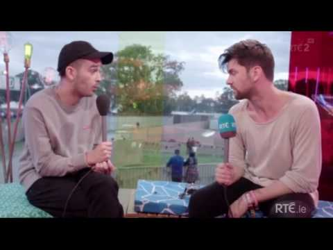 The 1975's Matty Healy interview @ Electric Picnic
