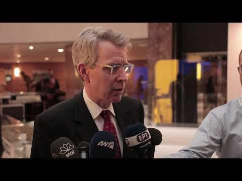 Τζέφρι Πάιατ στο Ελληνοαμερικανικό Επιμελητήριο 2018