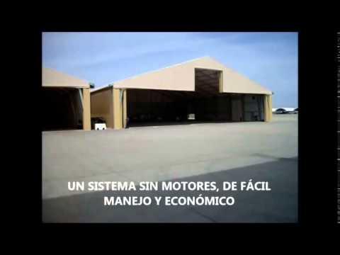 Puertas rápidas para hangares - Angel Mir (Portes Bisbal SL)