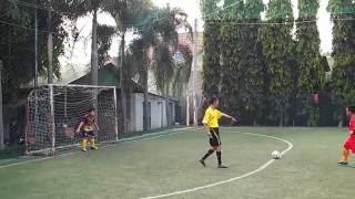 Kỹ thuật sút luân lưu bóng đá tiểu học