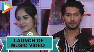UNCUT: Jannat Zubair & Namish Taneja @Music Video Launch of 'Kaise Main'