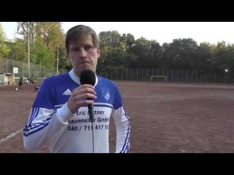 Nuri Emini, Michael Spannenkrebs (beide Trainer TSV Eppendorf Groß-Borstel), Hans Walther Dzaak (Trainer Weiß-Blau 63) und Fabian Paul (Weiß-Blau 63) - Die Stimmen zum Spiel (TSV Eppendorf Groß-Borstel - Weiß-Blau 63, Kreisliga 5) | ELBKICK.TV