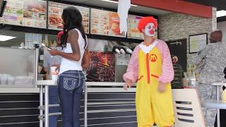 Ronald McDonald Tries to Get a Job at Burger King