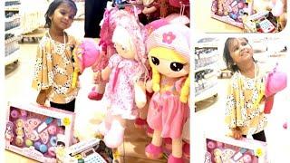 My little Girl😍 Niranjana doing shopping Toys| Kids shopping| kid pretend play shopping at toy shop