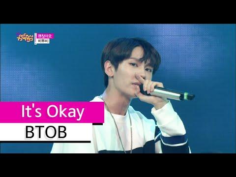 [HOT] BTOB - It's Okay, 비투비 - 괜찮아요, Show Music core 20150725