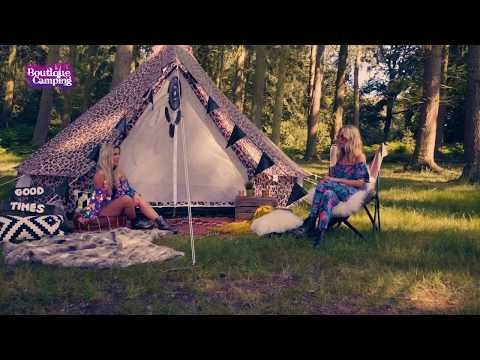 Boutique Camping Tents 3m Weekender Polyester Rundzelte - Animal Print
