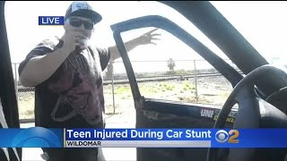 Teen Seriously Hurt in 'Ghost Ride the Whip' Stunt When Truck Runs Him Over