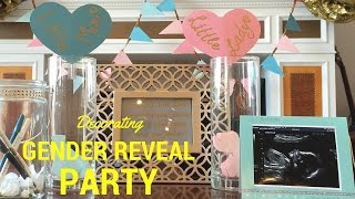 DIY Decorating Ideas for Gender Reveal Party