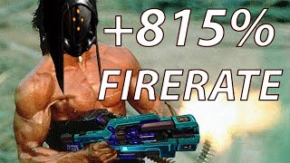 Warframe: Machinegun Opticor Vandal