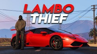 STEALING A LAMBO | GTA 5 ROLEPLAY