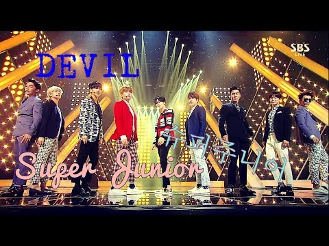Super Junior 슈퍼주니어 - Devil Stage Mix