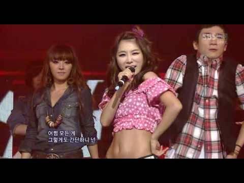 Brown Eyed Girls - Candy Man Inkigayo 090920