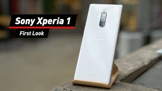 Sony Xperia 1 im First Look: 21:9-Display mit 4K-OLED - DAS Film-Smartphone!