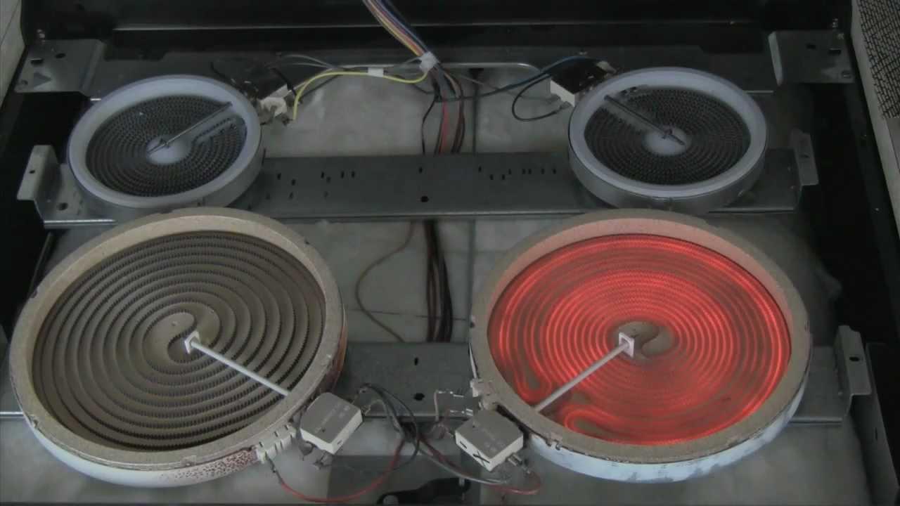 Electric Range Stove Repair How To Repair Burner Elements