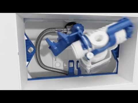 Geberit Duofix Frame for Wall-Hung WC, H112, with Sigma Cistern 12cm - Disabled Installation