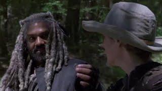 The Walking Dead 9x01 - Ezekiel Asks Carol To Marry Him