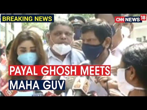 Payal Ghosh & Ramdas Athawale meet Maha Guv, demand action against Anurag Kashyap