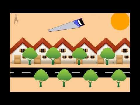 [Animation #1] Xin đừng chặt cây xanh !!!