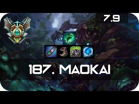 Maokai build jungle season 4 - Power rangers time force red
