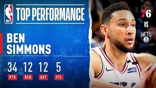 Simmons DOES IT ALL In Brooklyn!