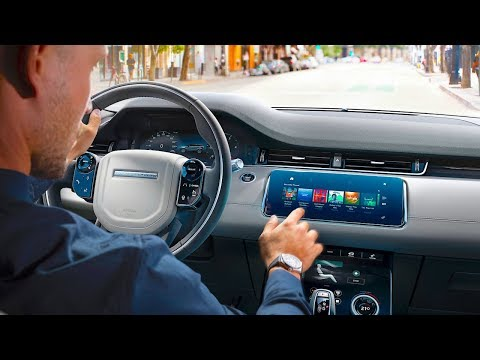 New Range Rover Evoque INTERIOR + Video Rear View Mirror 2019 Interior Evoque